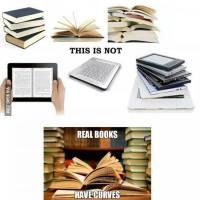 Not again! Print books vs. ebooks