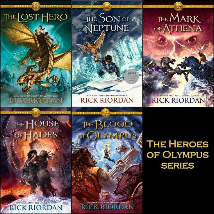 Riordan_HeroesOfOlympus-All-5