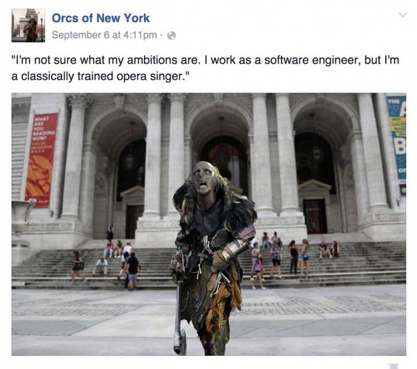 Orcs Of New York (screenshot)