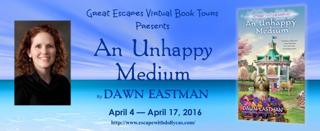 TOUR: An Unhappy Medium - REVIEW & GIVEAWAY