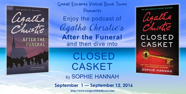 Closed Casket, the new Poirot novel – plus a free Christie podcast!