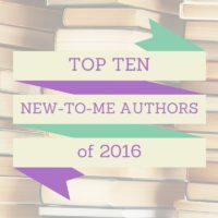 Top Ten New-to-Me Authors of 2016