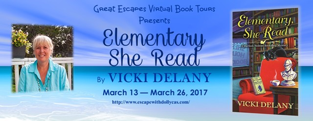 REVIEW & GIVEAWAY: Elementary, She Read (Vicki Delany)