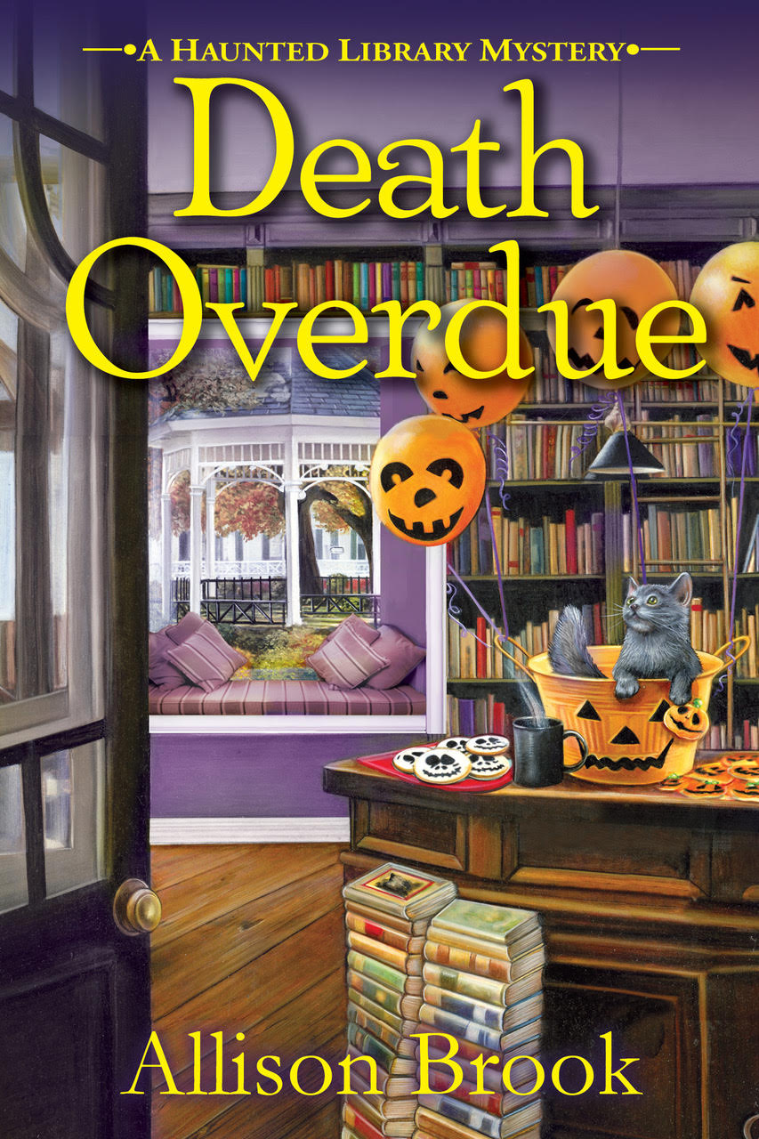 1 print copy of Death Overdue