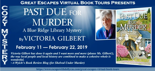 Past Due for Murder (Victoria Gilbert) - Guest Post, Review, & Giveaway