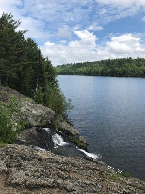 Dry Lake Falls, Boundary Waters Canoe Area Wilderness, Minnesota.